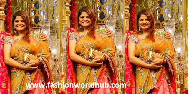 Viranica Manchu Reddy in Designer Half saree