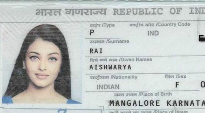 5 Passport Pictures Of Celebrities!
