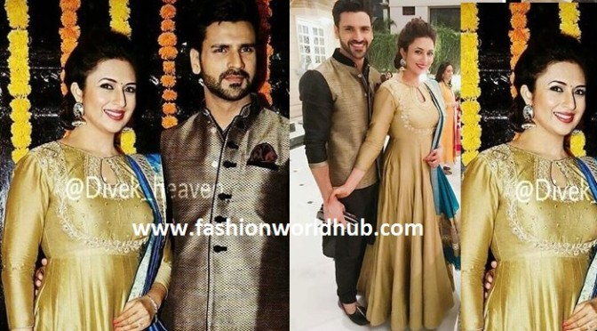 Divyanka Tripathi & Vivek – Diwali bash photos
