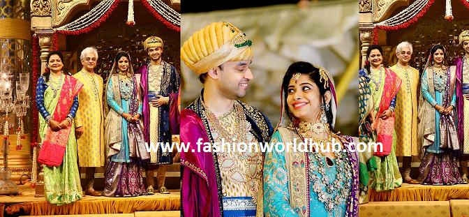 Vasundhara Diamond roof Jeweller's Son Reception Photos!