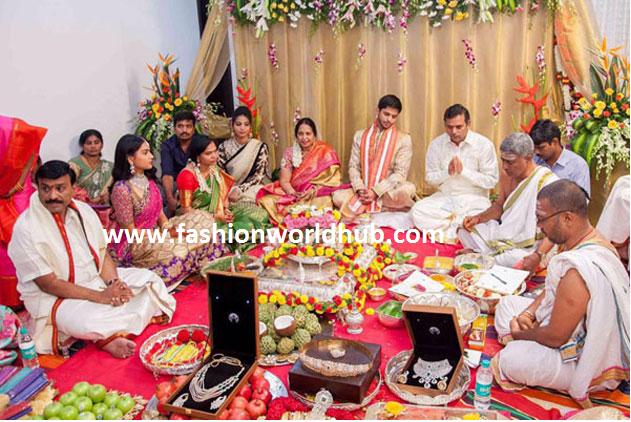 Politician Gali Janardhan Reddy Daughter Engagement Photos