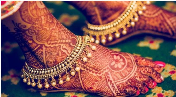 Designer Anklets – Bridal Special!