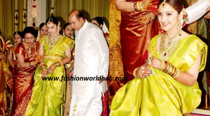 Sridevi Vijaykumar – Unseen wedding photos!