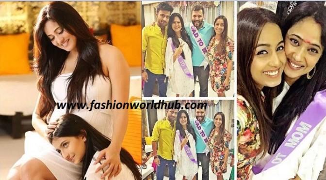 Shweta Tiwari's baby shower pics!