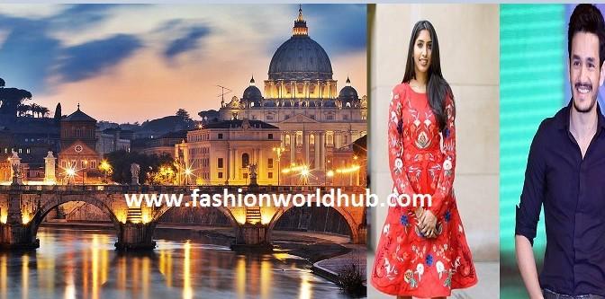 Akhil wedding in italy fashionworldhub