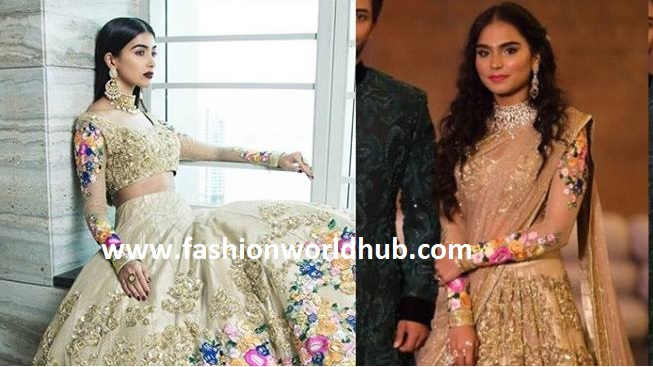 Brahmani Reddy in Neetu lulla lehenga for her Sangeet!