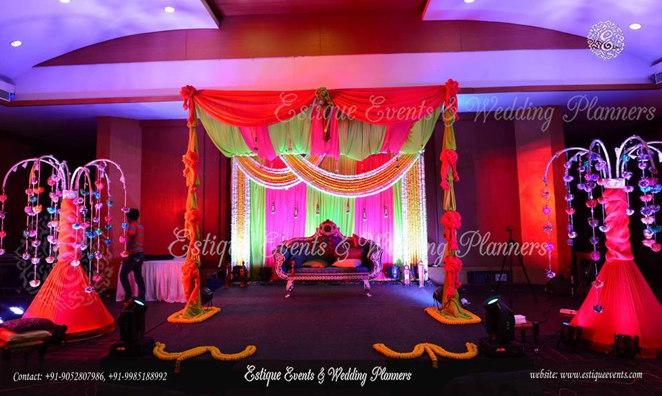 For Sangeet & other events