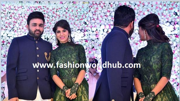 Talasani Srinivas Yadav daughter wedding Reception photos!