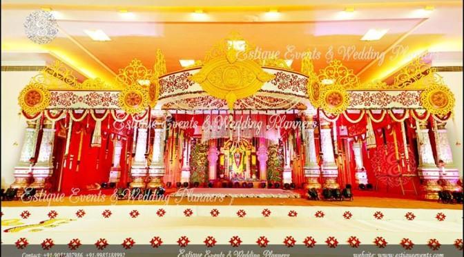 Wedding decors! -Estique Decor Productions