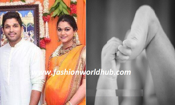 Congratulations to Allu Arjun & Sneha Reddy for their Second child!