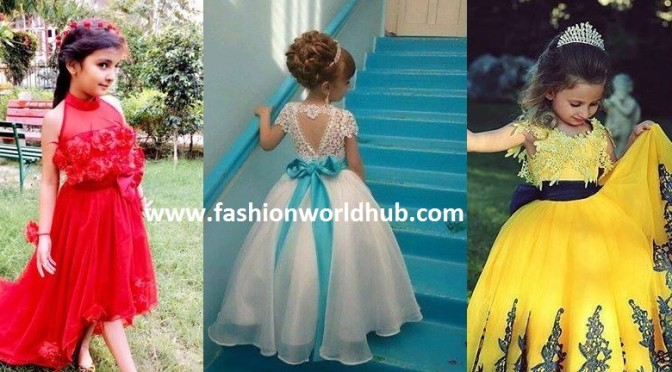 10 Trending Kid's Gown's (or) Long frocks