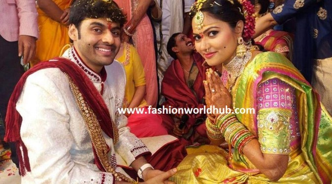 ZEE Telugu Iddaramaiyula TV Serial Actress Suhasini Wedding photos!