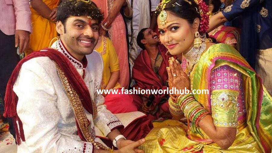 ZEE Telugu Iddaramaiyula TV Serial Actress Suhasini Wedding Photos