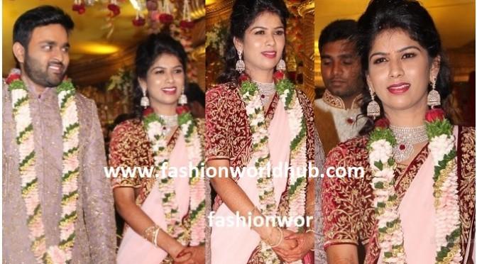 Talasani Srinivas Yadav Daughter Reception photos