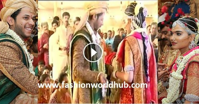 Gali janardhan Reddy daughter Brahamini Wedding Video!