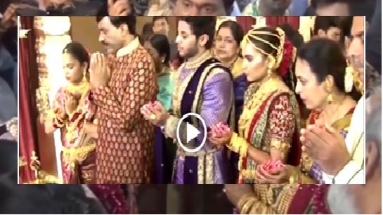 Gali janardhan reddy daughter wedding video! ( 29 minutes)