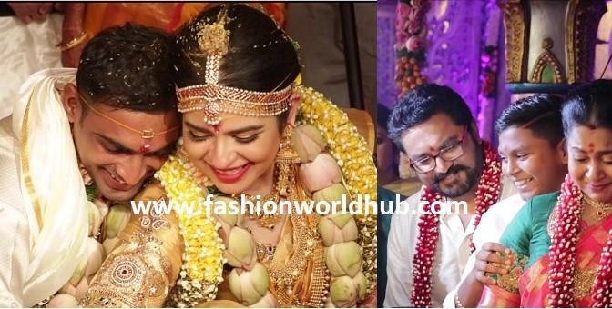 Its Actually LOVE MARRIAGE! Radhika Daughter Raynee Wedding Video!