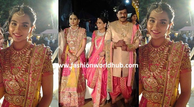 Gali Janardhan Reddy Daughter Sangeet at Bangalore Palace!