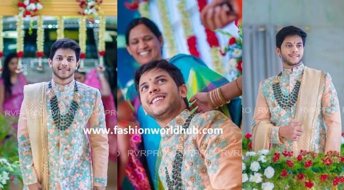 Gali janardhan reddy Son in law( Rajeev Reddy)  Pellikoduku function photos!