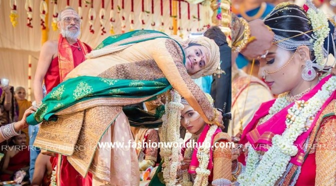 Wedding Album of Gali Janardhan reddy daughter Brahmini Reddy & Rajeev Redy! RVR PRO photography