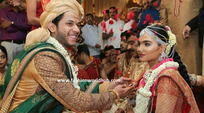 Gali Janardhan Reddy daughter wedding photos!