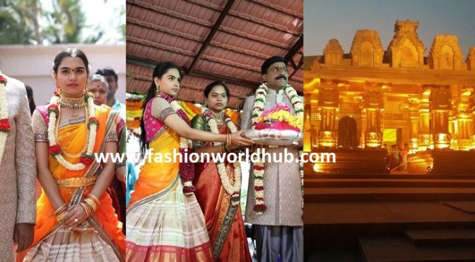 Gali Janardhan Reddy daughter Wedding mandapam other photos!