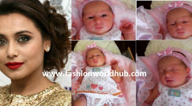 First pic of Rani Mukherjee and Aditya Chopra's daughter Adira