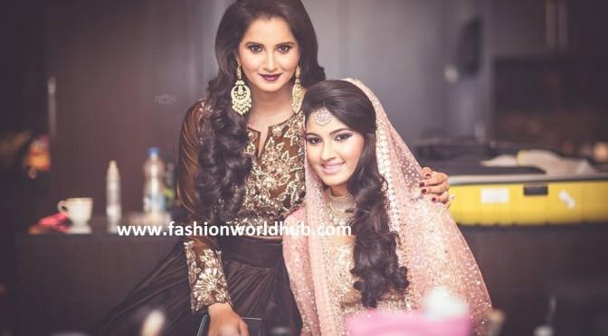 Sania Mirza Sister Anam Mirza Sangeet Photos!