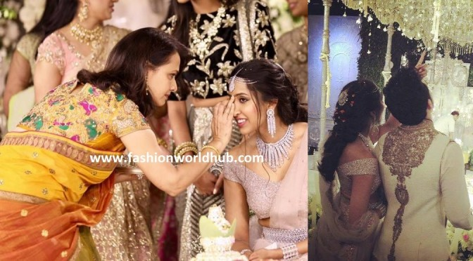 Akhil & Shirya bhupal Engagement ( FEW MORE photos)