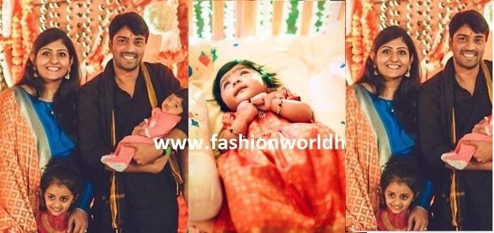 Allari Naresh Daughter Cradle Ceremony Barasala Photos