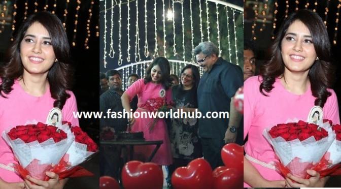 26th Birthday Celebration photos of Rashi Khanna
