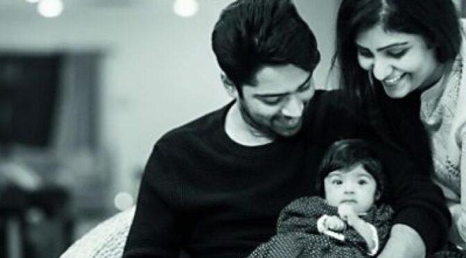 Allari Naresh daughter Photos!