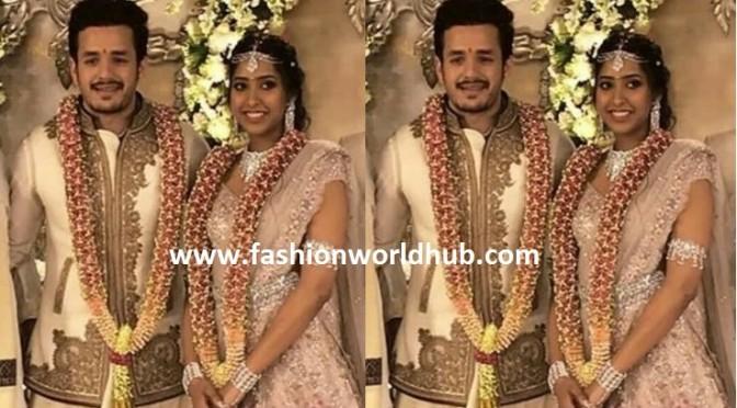 Akhil Akkineni & Shriya Bhupal Engagment photos!