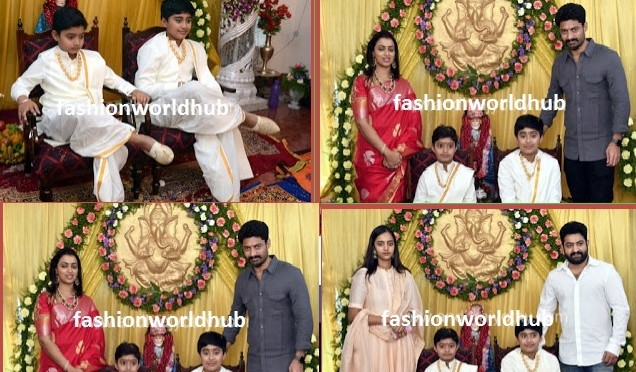 Pancha kattu function at Nandamuri Janakiram family!