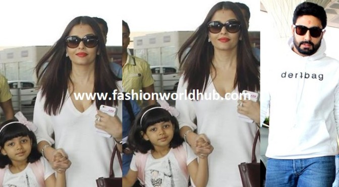 Abhishek, Aishwarya rai and AAradya new year celebration in Dubai!