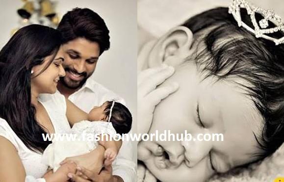 Finally Allu Arjun shared his second baby photos! Adorable!