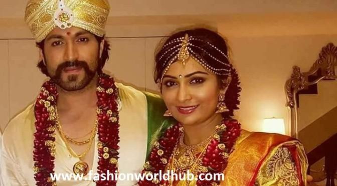 Kannada actor Yash and Radhika Pandit's Wedding photos!