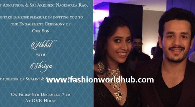 All set for Engagement of Akhil Akkineni & Shriya Bhupal!