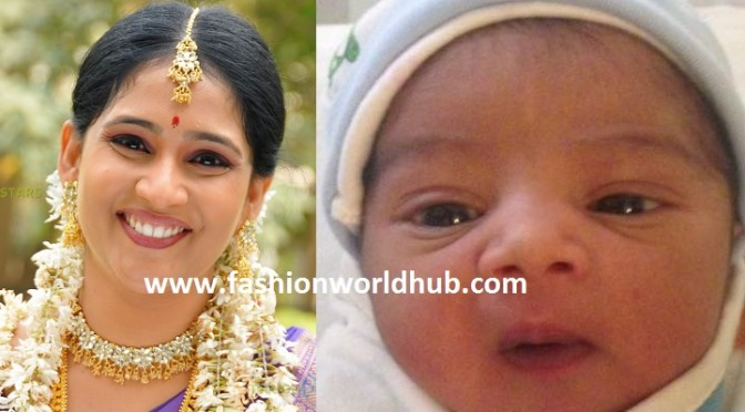 Anchor Gayatri bhargavi blessed with baby boy!