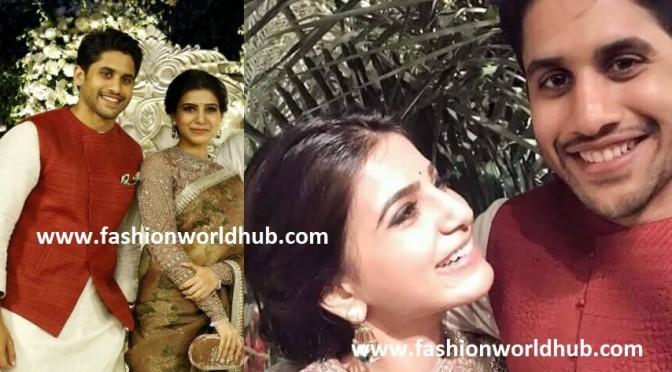 Naga Chaitanya & Samantha in Akhil Engagement!