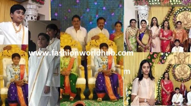 Nandamuri Janakiram Son Panchakattu function photos!