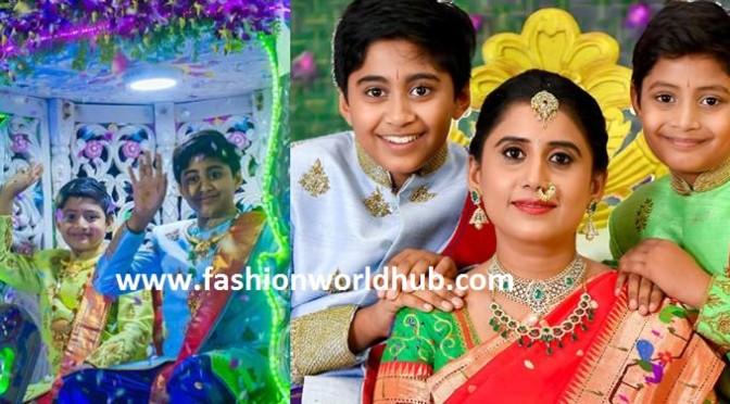 Nandamuri Harikrishna grand son panchakatu photos ( FEW MORE )