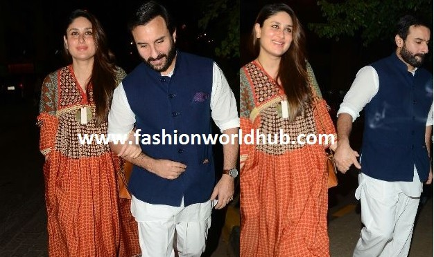 Saif & Kareena spotted on a first dinner date, post Taimur's birth