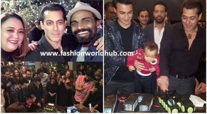 Salman Khan 51st Birthday bush photos!