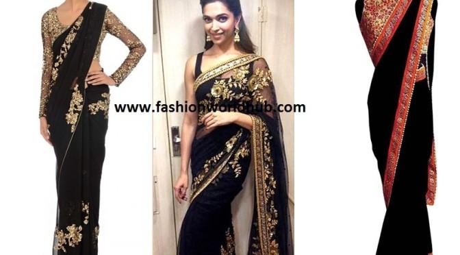 Gorgeous black Saree – Buy online