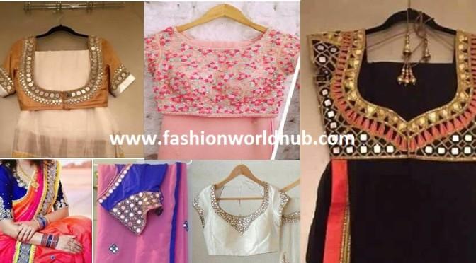 Designer Sarees & designer blouse!