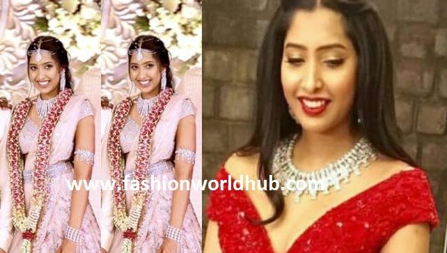 Shirya Bhupal in Diamond Jewellery!