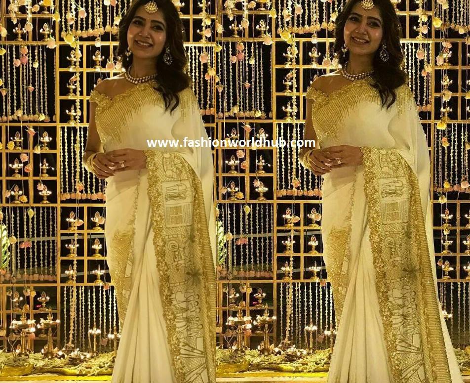 Samantha saree