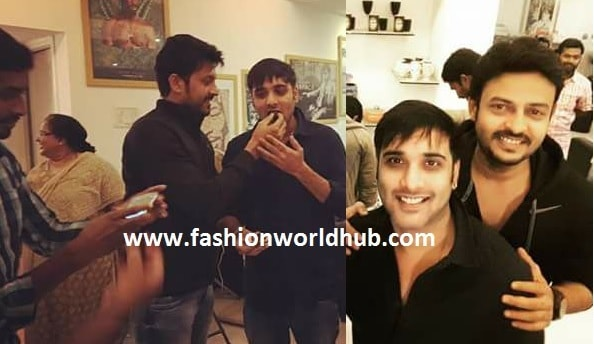 Actor Tarun birthday party photos!