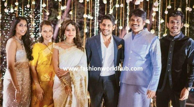Akkineni Nagarjuna Son S And Daughter In Law Family Photo Fashionworldhub
